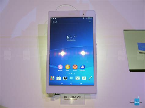 Tablet Z3 Compact sony xperia z3 tablet compact on a compelling and