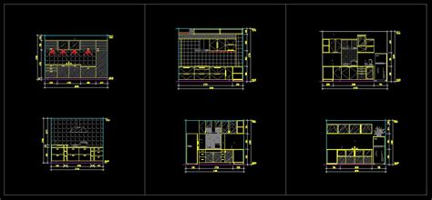 kitchen templates for autocad kitchen design template cad files dwg files plans