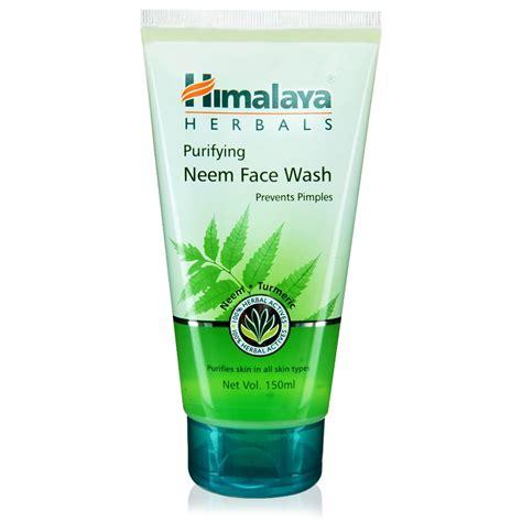 Pembersih Muka Himalaya Herbal himalaya herbal purifying neem wash 100 soap free