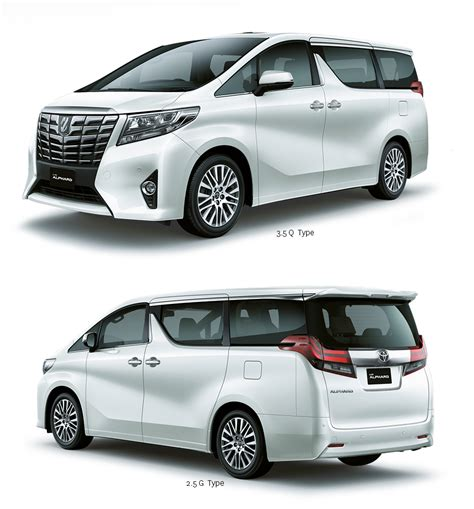 Toyota Alphard Indonesia All New Toyota Alphard And Vellfire Officially Launched In