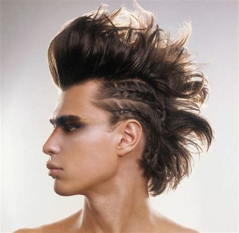 mens mohawk hairstyles  haircuts styles