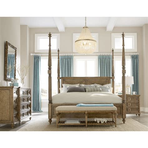 Four Poster Bedroom Set by Bay Isle Home Gerakies King Four Poster Customizable