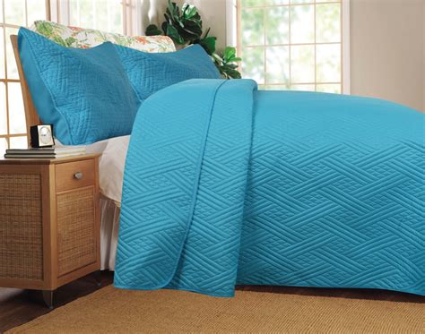 lightweight bed coverlet dada bedding thin lightweight solid light blue teal