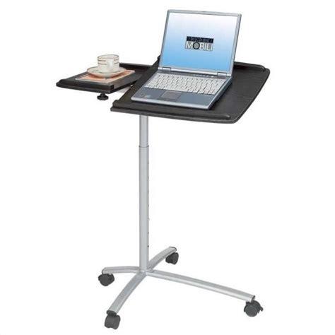 L Stand Walmart by Techni Mobili Adjustable Standing Espresso Mobile Laptop