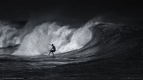Surf Wallpaper Black And White   download wallpaper sport surfing black and white free