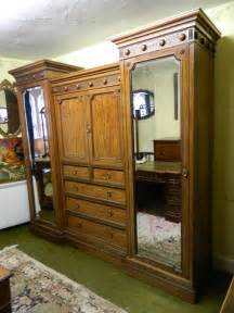Breakfront Wardrobe by Mahogany Breakfront Wardrobe Antiques Atlas