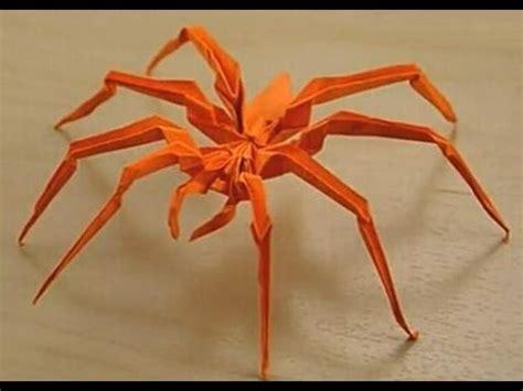 Origami Jumping Spider - 如何 摺紙教學 香蕉 色紙 funnycat tv