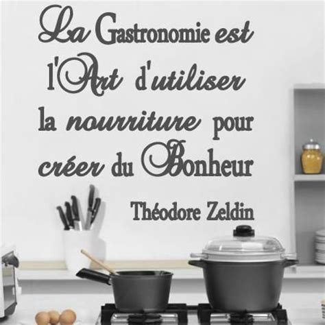 stickers citation cuisine dicton cuisine stickers stickers muraux citations