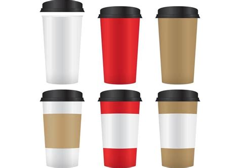 How To Decorate A Coffee Mug Coffee Paper Cup Mockup Vectors Download Free Vector Art
