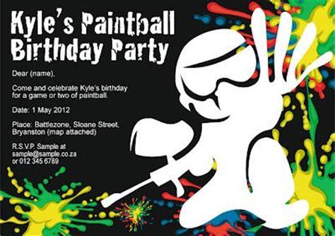 printable birthday invitations paintball pinterest ein katalog unendlich vieler ideen
