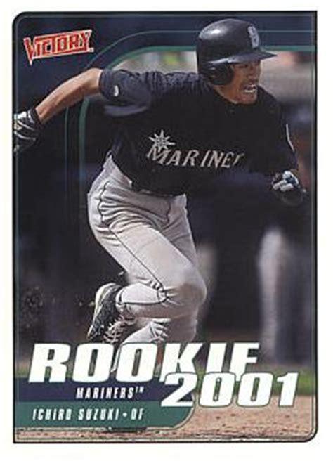 Ichiro Suzuki Rookie Card 2001 Victory Ichiro Suzuki Rookie Card