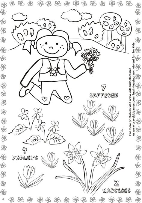 free printable preschool spring activities 17 best images about spring on pinterest cut and paste