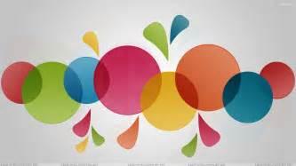 colorful circles artistic colorful circle wallpaper