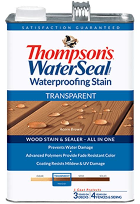 thompson water seal stain colors thompson s waterseal transparent waterproofing stain