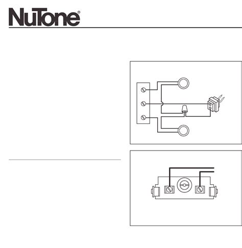 nutone intercom wiring diagram pdf 34 wiring diagram