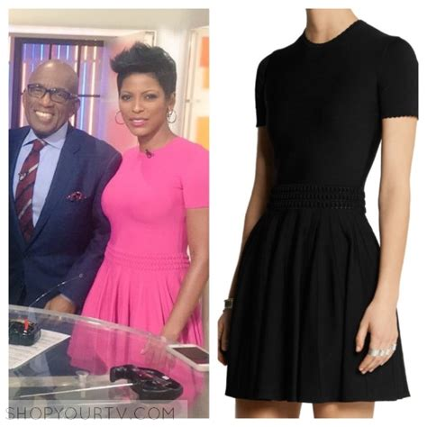 where does tamron hall buy her clothes alexander mcqueen shop your tv