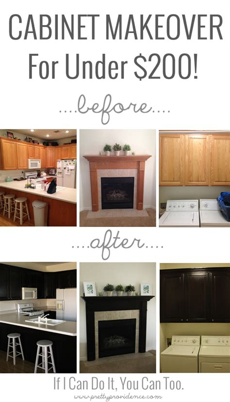 diy kitchen cabinets for less than 250 remodeling give your entire houses cabinets a makeover for less than