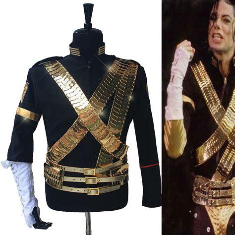 mj michael jackson classic jam jacket metal