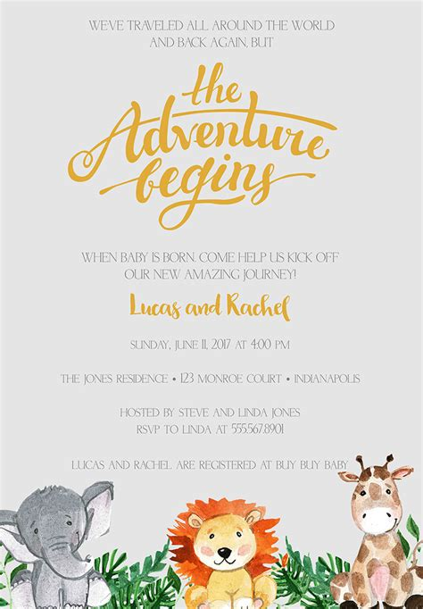 Wording On Baby Shower Invitations by 22 Baby Shower Invitation Wording Ideas