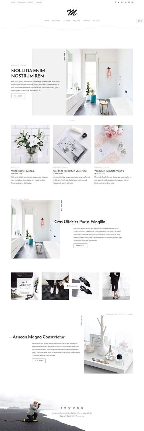theme ref blog 791 best wordpress blog and magazine themes images on