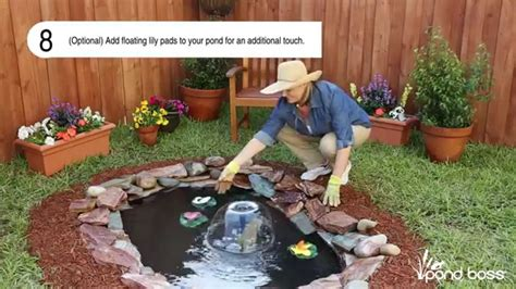 how to build a small pond in your backyard how to build a small pond youtube