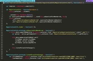 monokai color scheme a new vim monokai color scheme for javascript exle