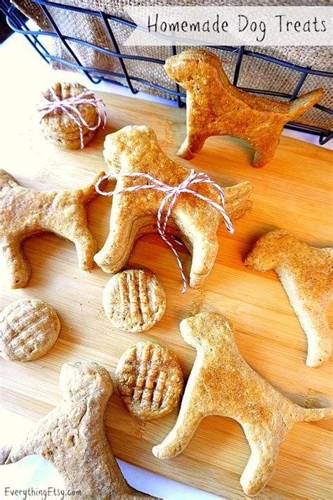 Handmade Treats - treat recipe peanut butter cookies