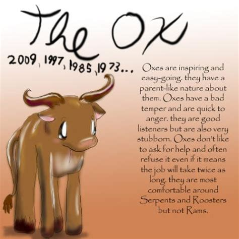 the ox 176 176 sign wallpapers 176 chinese zodiac