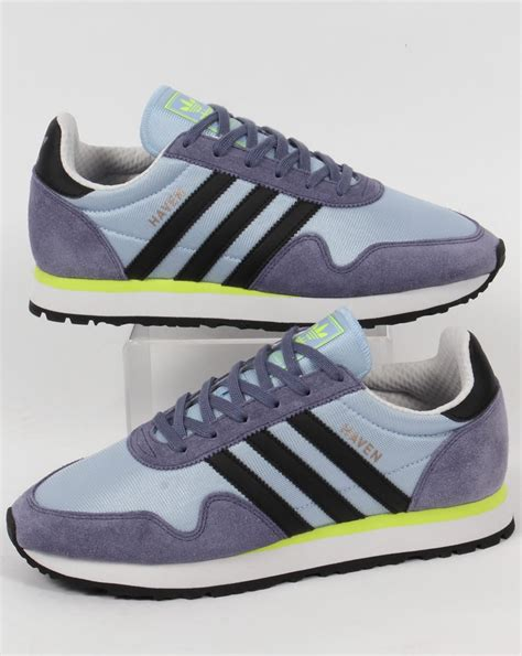 adidas haven adidas haven trainers easy blue black yellow originals