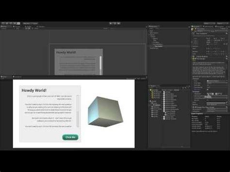 unity tutorial text gui text in unity 3d unity concepts doovi