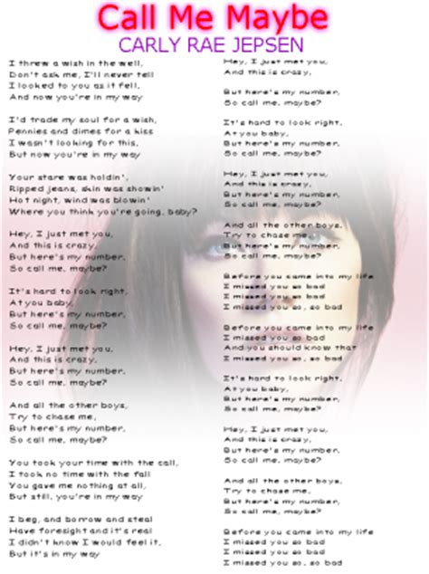 printable lyrics website before you came into my life i missed you so bad i