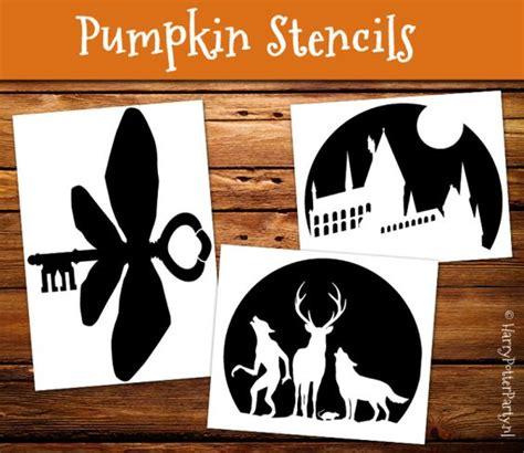 printable harry potter pumpkin stencils amazing pumpkin carving stencils with harry potter theme