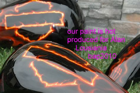 unique paint custom motorcycle paint jobs custom painted flames by bad