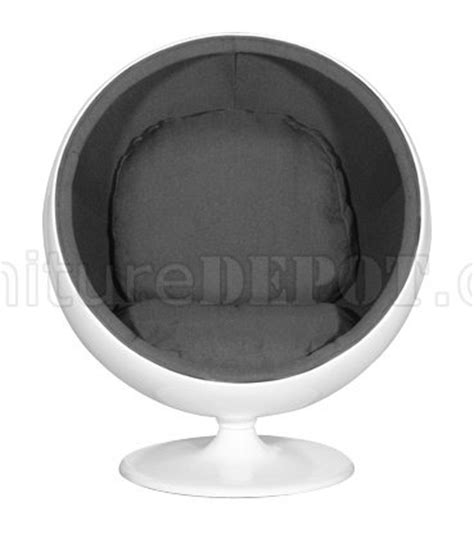 room essentials sphere chair or black cushioned seat modern sphere shape chair