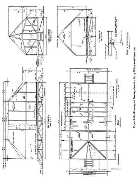 wood frame house section drawings google search