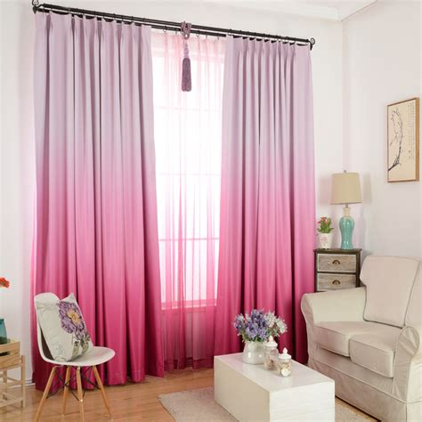 colorful bedroom curtains high grade solid color graceful modern curtains for living
