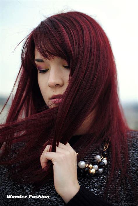dark cherry red hair ve stepped into the dark side hair pinterest dark red hair search