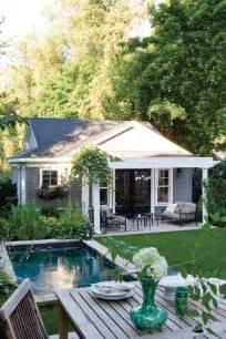 Cottages With Pools Am 233 Nagement D Une Cour Arri 232 Re Pour Terrain 233 Troit