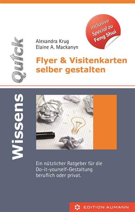 Visitenkarten Selber Gestalten by Wissensquick Flyer Und Visitenkarten Selber Gestalten