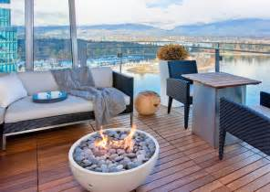 small pit for balcony astonishing outdoor gas pit decorating ideas