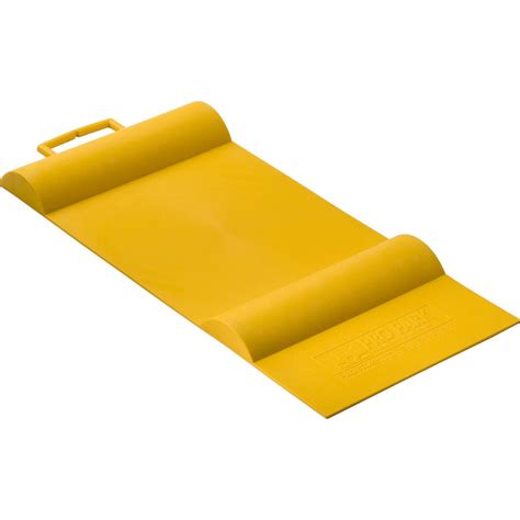 Parking Mat For Garage by Shop Racor 12 In W X 1 5 In L X 27 In H Yellow Rubber Car