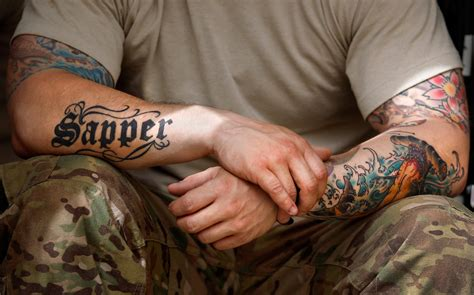 can you join the army with tattoos sleeve tattoos are you for or against all