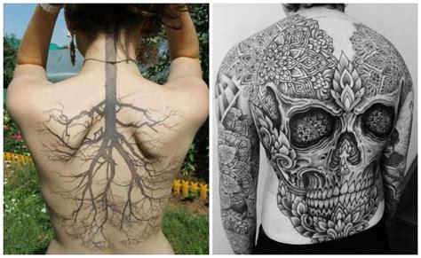 tatuajes en la espalda ideas y consejos para tatuarte