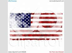 Royalty-Free (RF) Clipart Illustration of a Faded American ... Free Clipart Of Valentine's Day