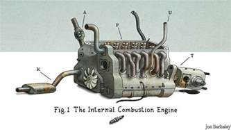 Electric Car Combustion Engine The Parable Of The Four Engined Planes