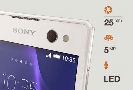 Hp Sony Yang Ada Kamera Depan Harga Terbaru Sony Xperia C3 Lte D2533 Spesifikasi Lengkap