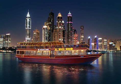 boat cruise in dubai dhow cruise dubai marina best dinner cruise in marina