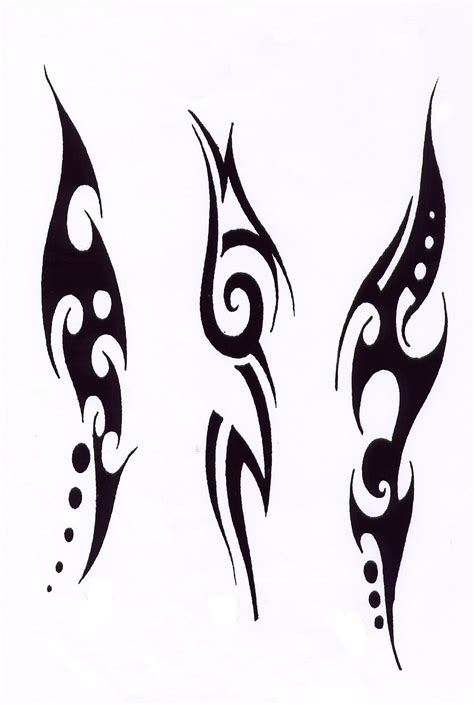 easy tribal tattoos simple tribal designs studio design gallery