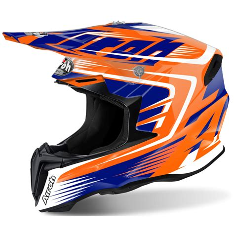 airoh motocross helmets uk airoh twist motocross helmet mix orange gloss motorcycle