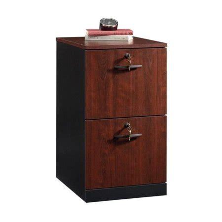 sauder lateral file cabinet sauder via 2 drawer lateral file cabinet in bourbon oak